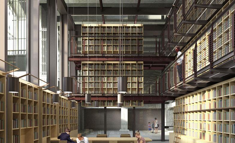 render-biblioteca-memoriale-shoah-milano